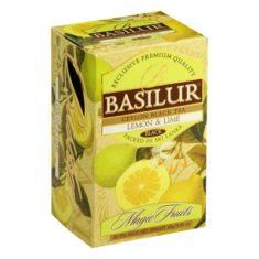 Чай Basilur Волшебные фрукты - Лимон и лайм