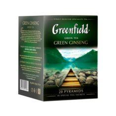 Чай Greenfield Green Ginseng