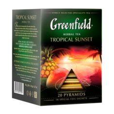 Чай Greenfield Tropical Sunset