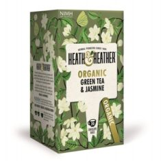 Чай Heath&Heather Organic Green Tea & Jasmine