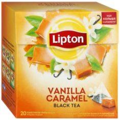 Чай Lipton Vanilla Caramel
