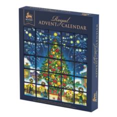 Чай Richard Royal Advent Calendar ассорти 25 пирамидок