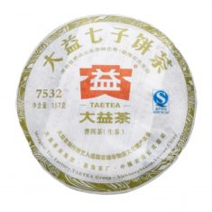 Чай Шен Пуэр 7532 Да И 2012 года