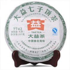 Чай Шен Пуэр 7742 Да И 2013 года