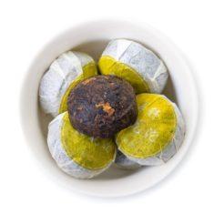 Чай Шу Пуэр С хризантемой (пуэр Хуа То Ча)