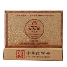 Чай Шу Пуэр Старые чайные головы (пуэр Лао Ча Тоу) 2012 года