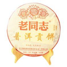 Чай Шу Пуэр Старый товарищ (пуэр Лао Тун Чжоу)