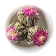 Китайский зелёный связанный чай Связанный со сливочным вкусом