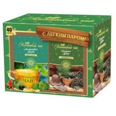 Подарочный набор чая Алтайский чай С легким паром